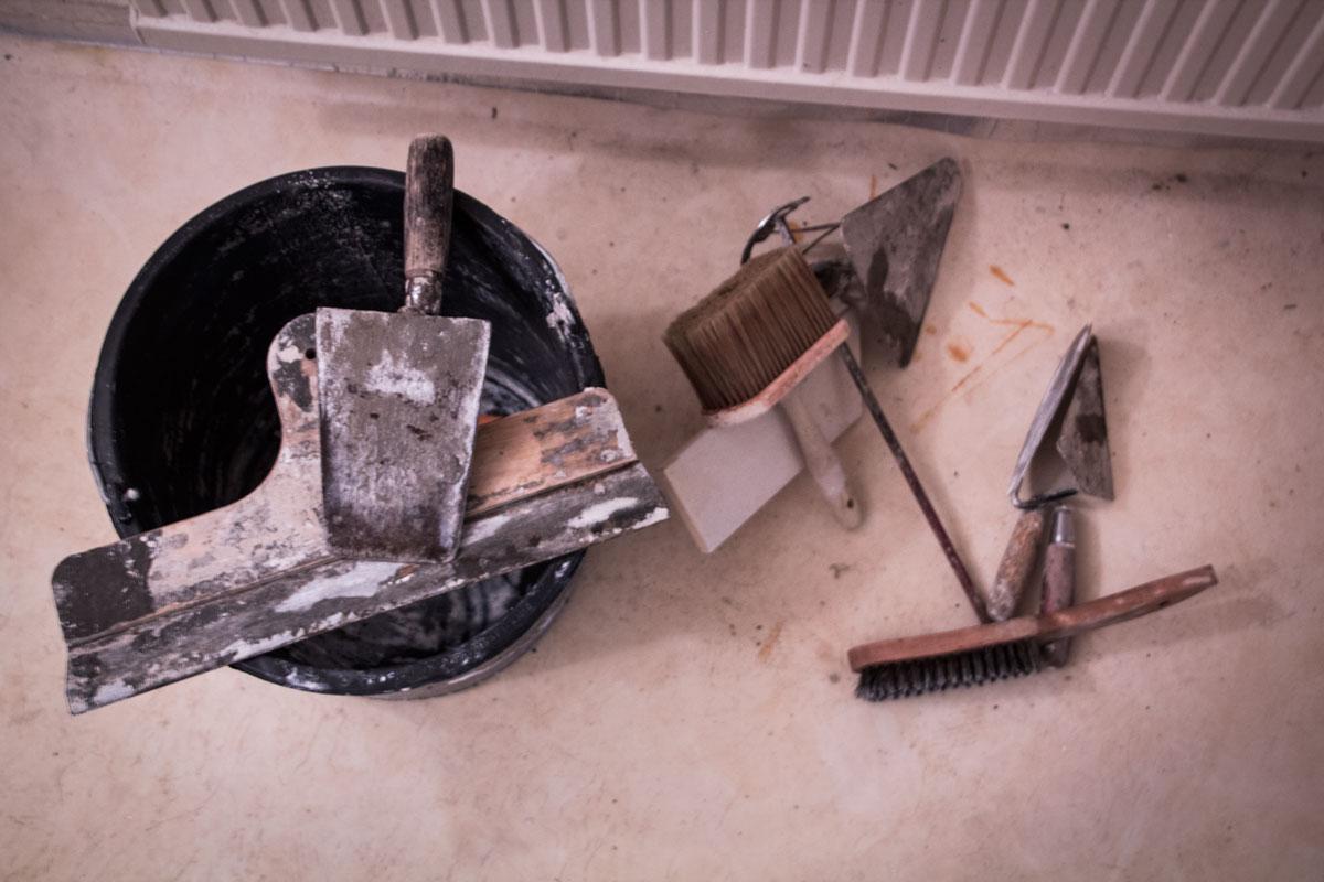 Rengjorda verktyg